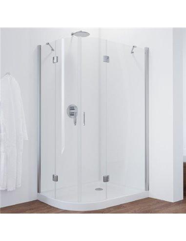 Vegas Glass dušas stūris AFS-F 110*100 08 01 R - 1