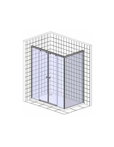 Radaway dušas stūris Premium Plus DWD+S - 13