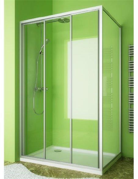 GuteWetter dušas stūris Practic Rectan GK-403 kreisā - 2