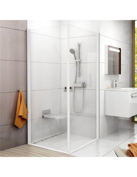 Ravak dušas stūris CRV1-80+CRV1 - 1