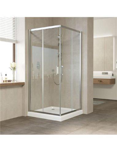 Vegas Glass dušas stūris ZA 90 08 01 - 1