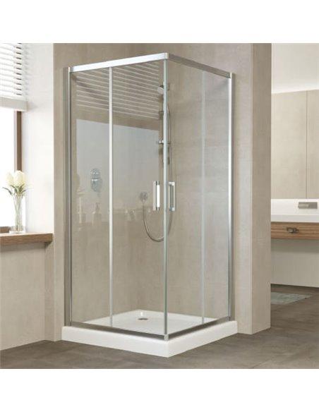 Vegas Glass dušas stūris ZA 90 08 01 - 2