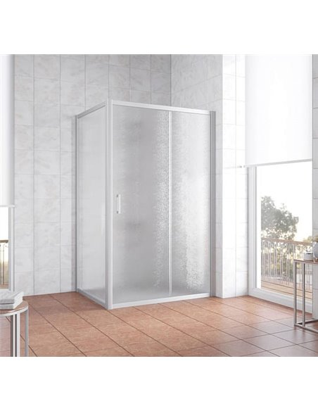 Vegas Glass dušas stūris ZP+ZPV 130*80 07 02 - 2