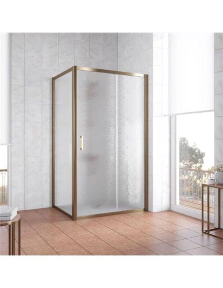 Vegas Glass dušas stūris ZP+ZPV 100*80 05 02 - 2