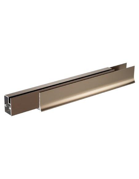 Vegas Glass dušas stūris ZP+ZPV 100*80 05 02 - 5