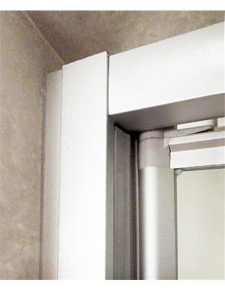 GuteWetter dušas stūris Practic Rectan GK-401 kreisā - 3