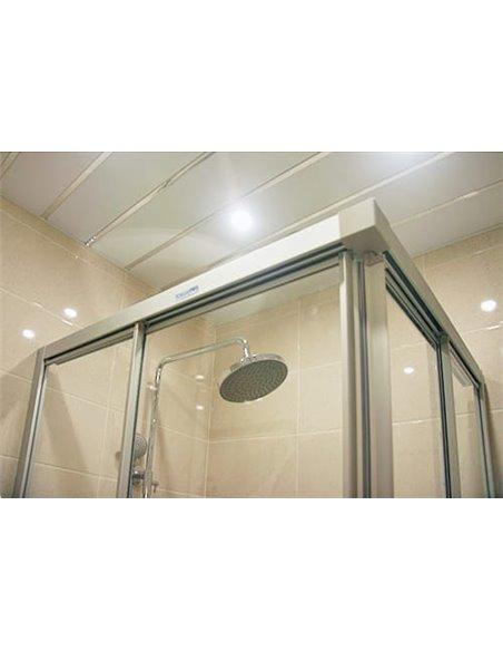 GuteWetter dušas stūris Practic Rectan GK-422 kreisā - 4