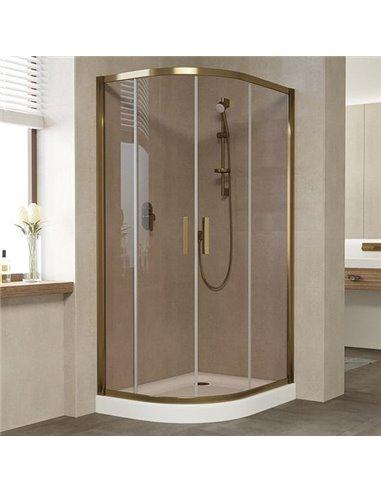 Vegas Glass dušas stūris ZS-F 90*80 05 05 - 1