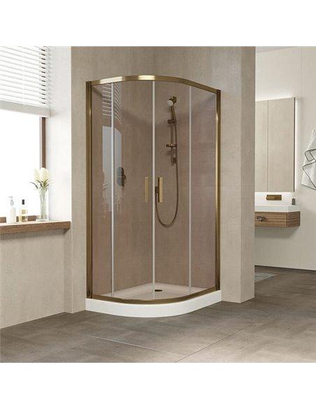 Vegas Glass dušas stūris ZS-F 90*80 05 05 - 2