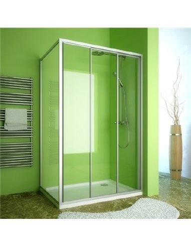 GuteWetter dušas stūris Practic Rectan GK-403 labā - 1