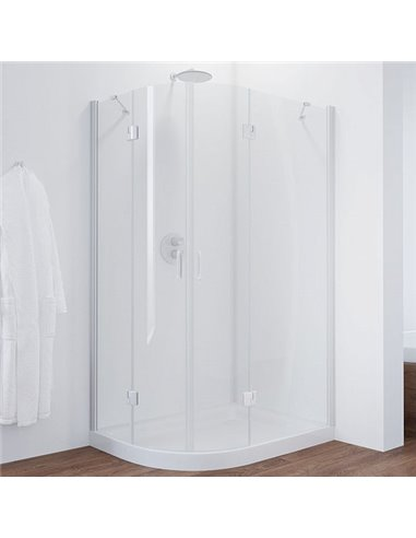 Vegas Glass dušas stūris AFS-F 120*90 01 01 R - 1