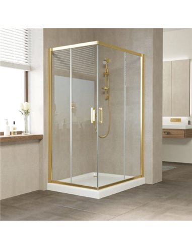Vegas Glass dušas stūris ZA-F 110*80 09 01 - 1