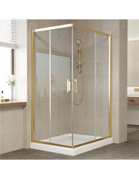 Vegas Glass dušas stūris ZA-F 110*80 09 01 - 2