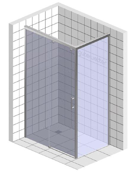 GuteWetter dušas stūris Slide Rectan GK-863A kreisā - 6