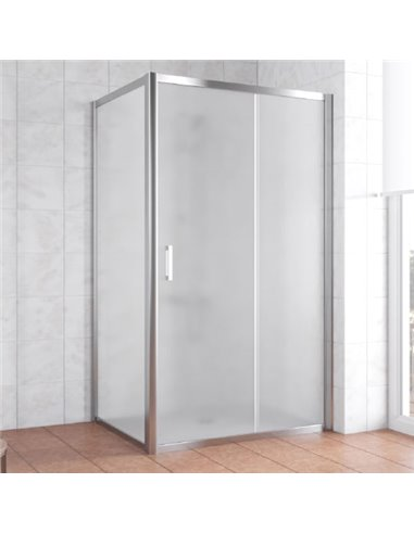 Vegas Glass dušas stūris ZP+ZPV 110*90 08 10 - 1