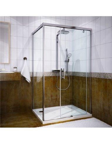 GuteWetter dušas stūris Slide Rectan GK-863A labā - 1