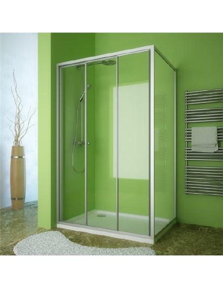 GuteWetter dušas stūris Practic Rectan GK-403 kreisā - 1