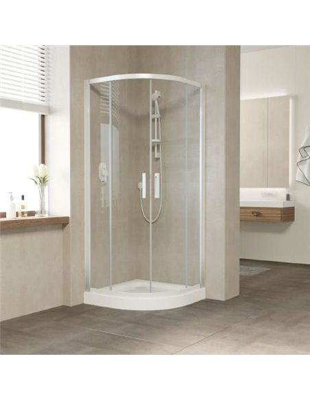 Vegas Glass dušas stūris ZS 90 01 01 - 2