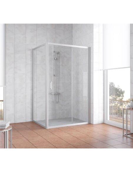 Vegas Glass dušas stūris ZP+ZPV 120*90 07 01 - 2