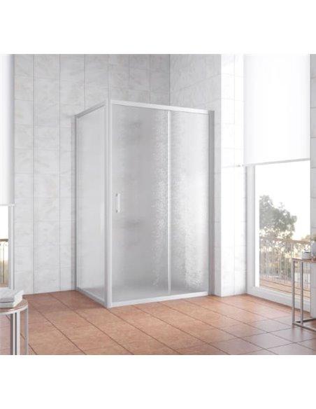 Vegas Glass dušas stūris ZP+ZPV 120*80 07 02 - 2