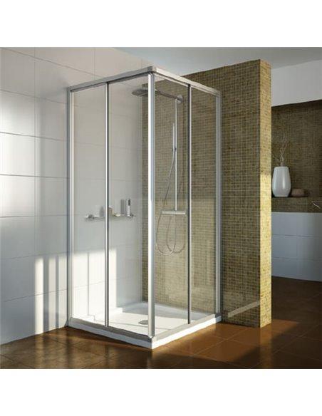 GuteWetter dušas stūris Practic Square GK-422 - 1