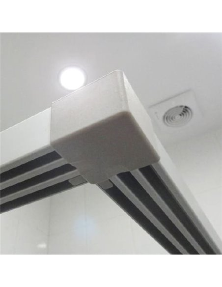 GuteWetter dušas stūris Practic Square GK-422 - 5