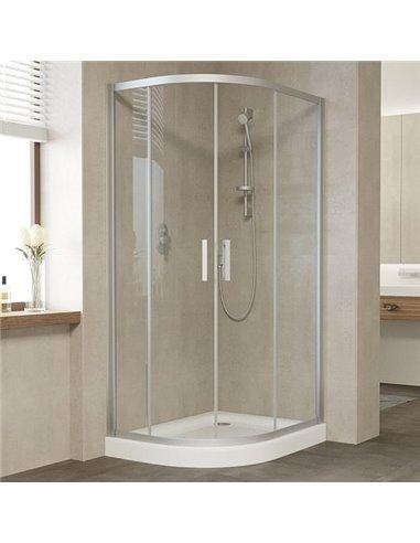 Vegas Glass dušas stūris ZS-F 100*80 07 01 - 1