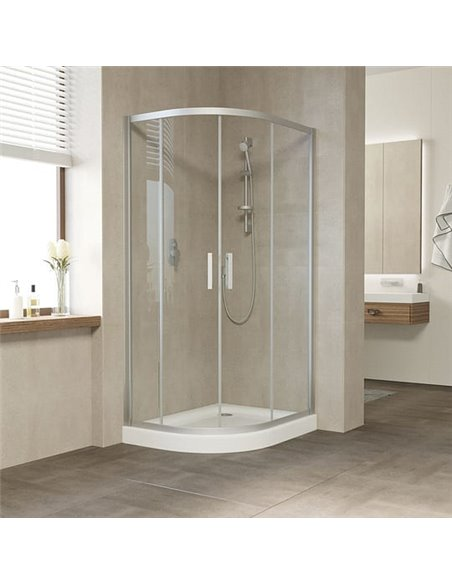 Vegas Glass dušas stūris ZS-F 100*80 07 01 - 2