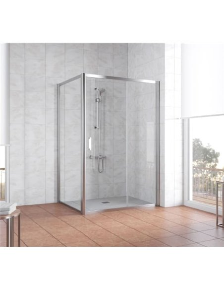 Vegas Glass dušas stūris ZP+ZPV 130*100 08 01 - 2