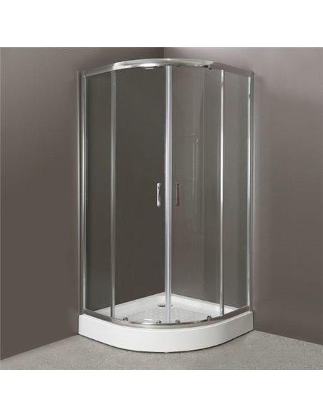 BelBagno dušas stūris Uno R 2 85 C Cr - 1