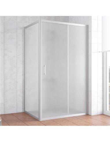 Vegas Glass dušas stūris ZP+ZPV 100*90 07 10 - 1