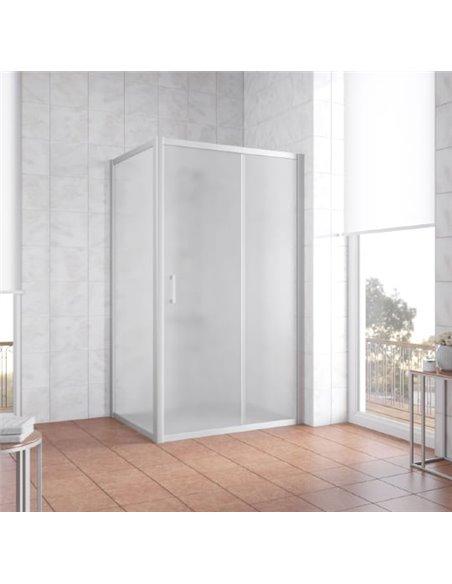 Vegas Glass dušas stūris ZP+ZPV 100*90 07 10 - 2