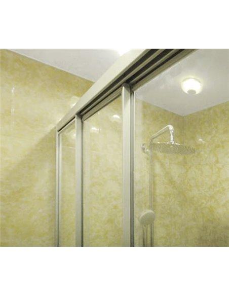 GuteWetter dušas stūris Practic Rectan GK-403 kreisā - 5