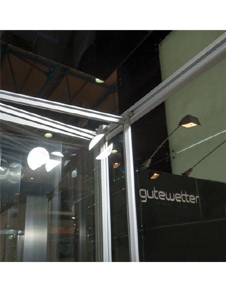 GuteWetter dušas stūris Practic Square GK-404 kreisā - 3