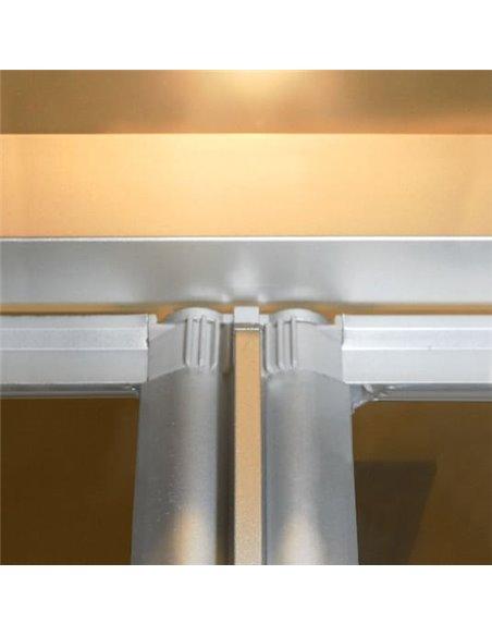 GuteWetter dušas stūris Practic Square GK-404 kreisā - 4