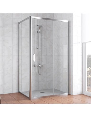 Vegas Glass dušas stūris ZP+ZPV 100*70 08 01 - 1
