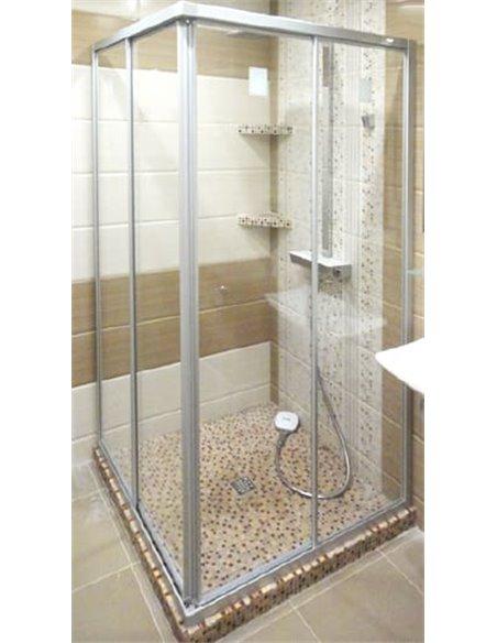GuteWetter dušas stūris Practic Square GK-422 - 2
