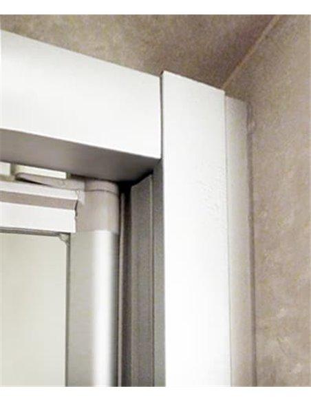 GuteWetter dušas stūris Practic Square GK-401 labā - 2
