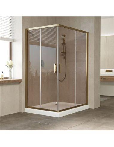 Vegas Glass dušas stūris ZA-F 120*100 05 05 - 1