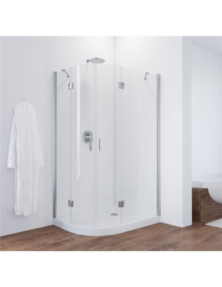 Vegas Glass dušas stūris AFS-F 110*90 08 01 R - 2