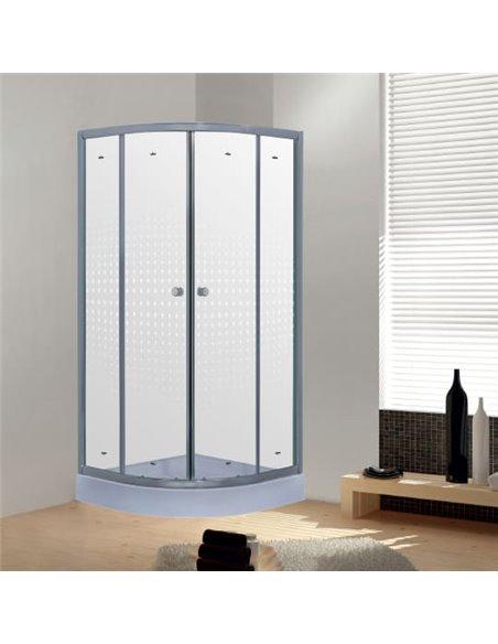 Timo dušas stūris TL-8001 Romb Glass - 1