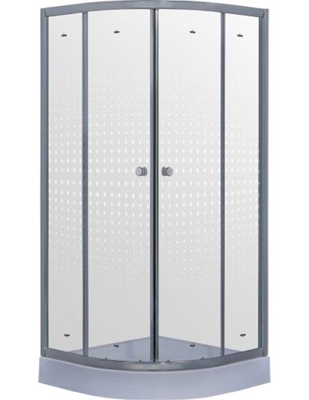 Timo dušas stūris TL-8001 Romb Glass - 2