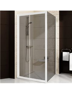 Ravak dušas stūris BLDP2-110+BLPS - 1