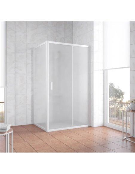 Vegas Glass dušas stūris ZP+ZPV 110*90 01 10 - 2