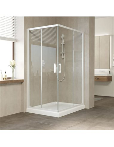 Vegas Glass dušas stūris ZA-F 100*90 01 01 - 1