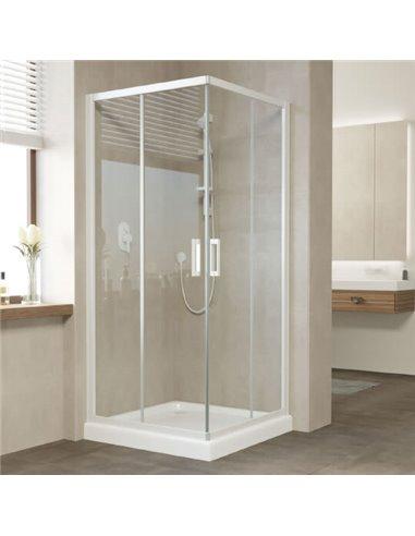 Vegas Glass dušas stūris ZA 80 01 01 - 1