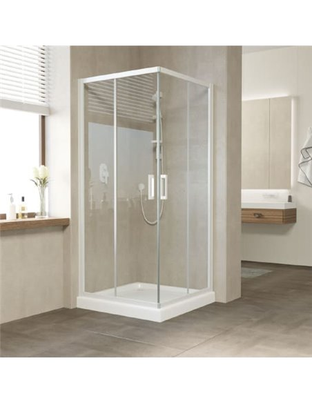 Vegas Glass dušas stūris ZA 80 01 01 - 2