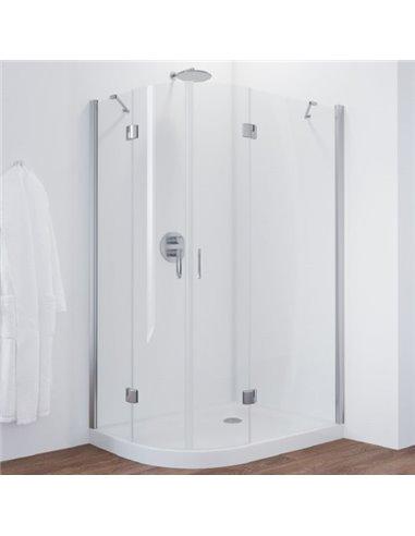 Vegas Glass dušas stūris AFS-F 120*110 08 01 R - 1