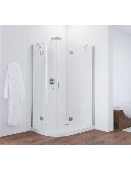 Vegas Glass dušas stūris AFS-F 120*110 08 01 R - 2