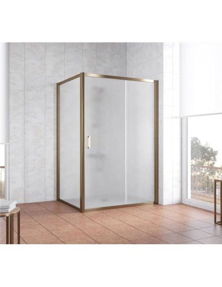 Vegas Glass dušas stūris ZP+ZPV 130*100 05 10 - 2